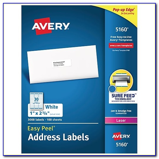 Staples White Mailing Labels Template 5162