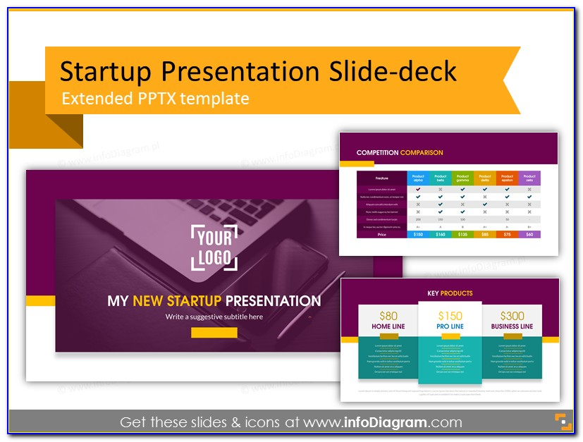 Startup Pitch Presentation Template
