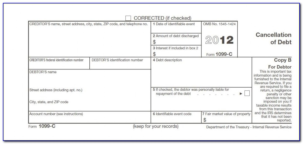 Student Loan Forgiveness Tax Form