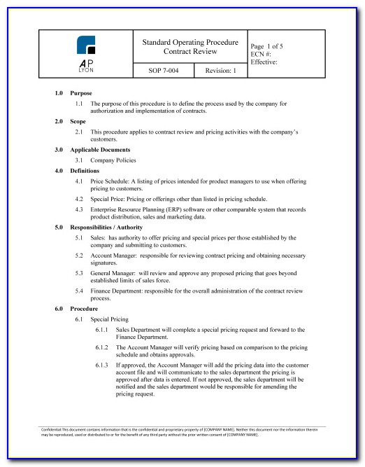 Supplier Quality Agreement Sample
