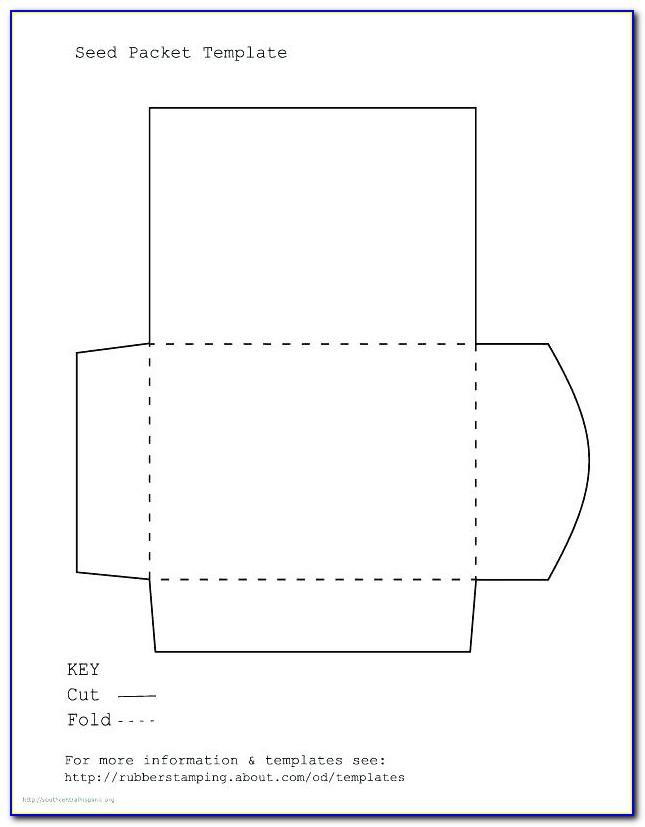 Table Seating Card Template