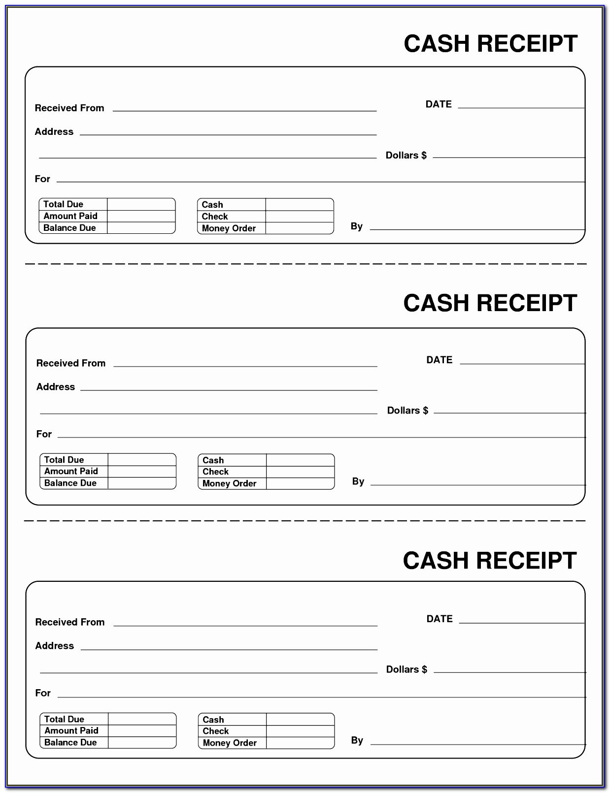 Taxi Receipt Template Free Vincegray2014