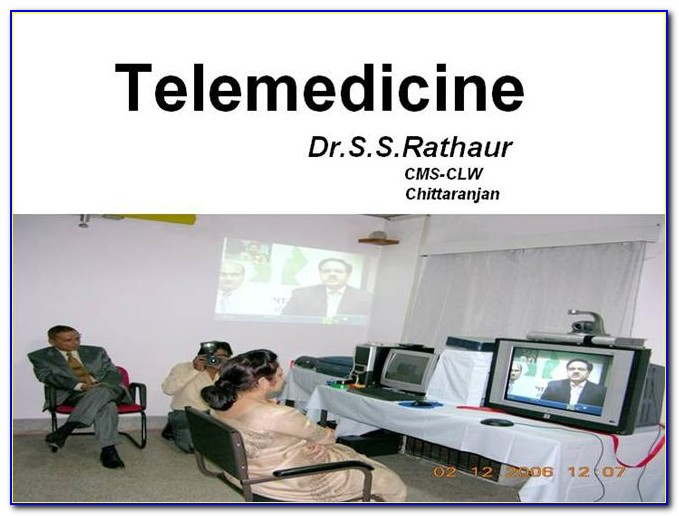 Telehealth Powerpoint Templates