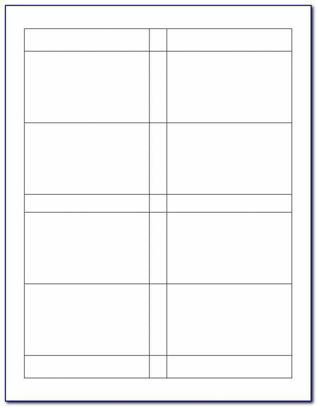Template For Avery Labels 5161