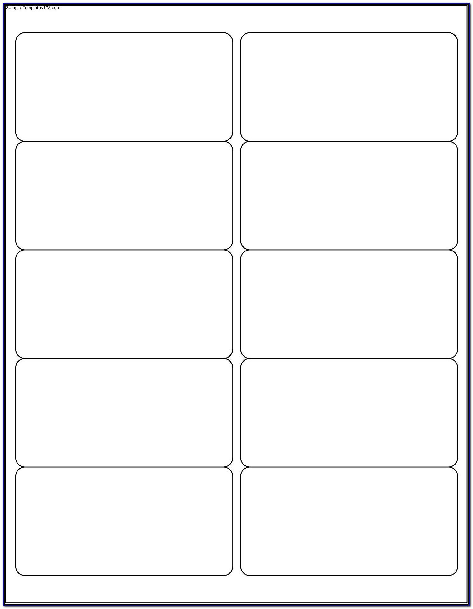 Template For Mailing Labels 30 Per Sheet