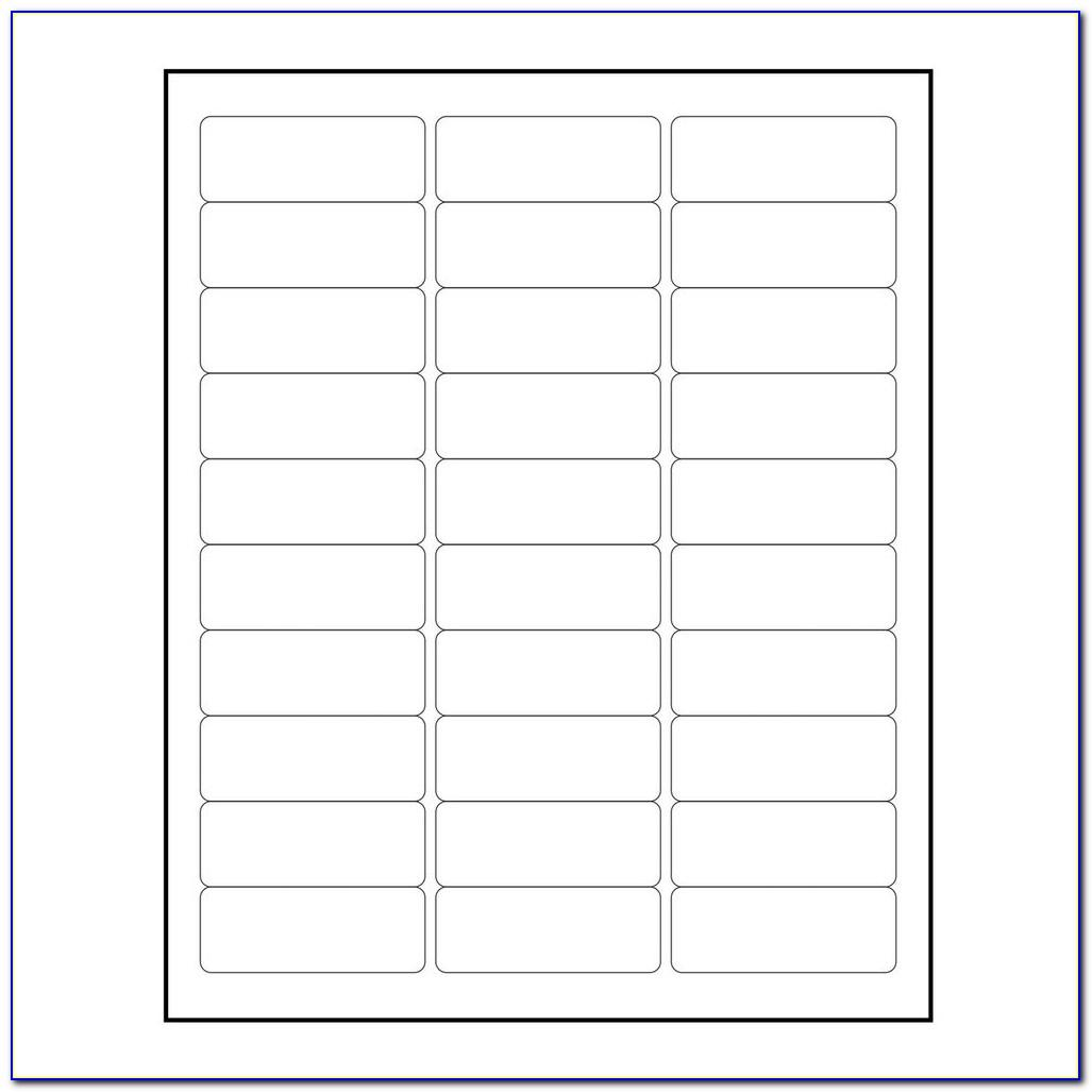Template For Mailing Labels Avery 5160