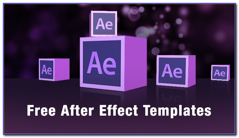 Templates After Effects Text Free