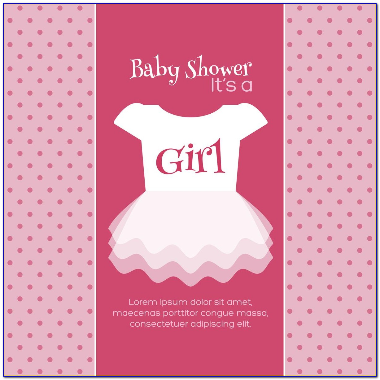 Templates For Baby Shower Invitation