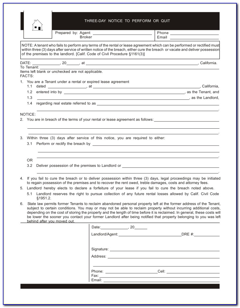 Tenant Eviction Forms Miami Dade County