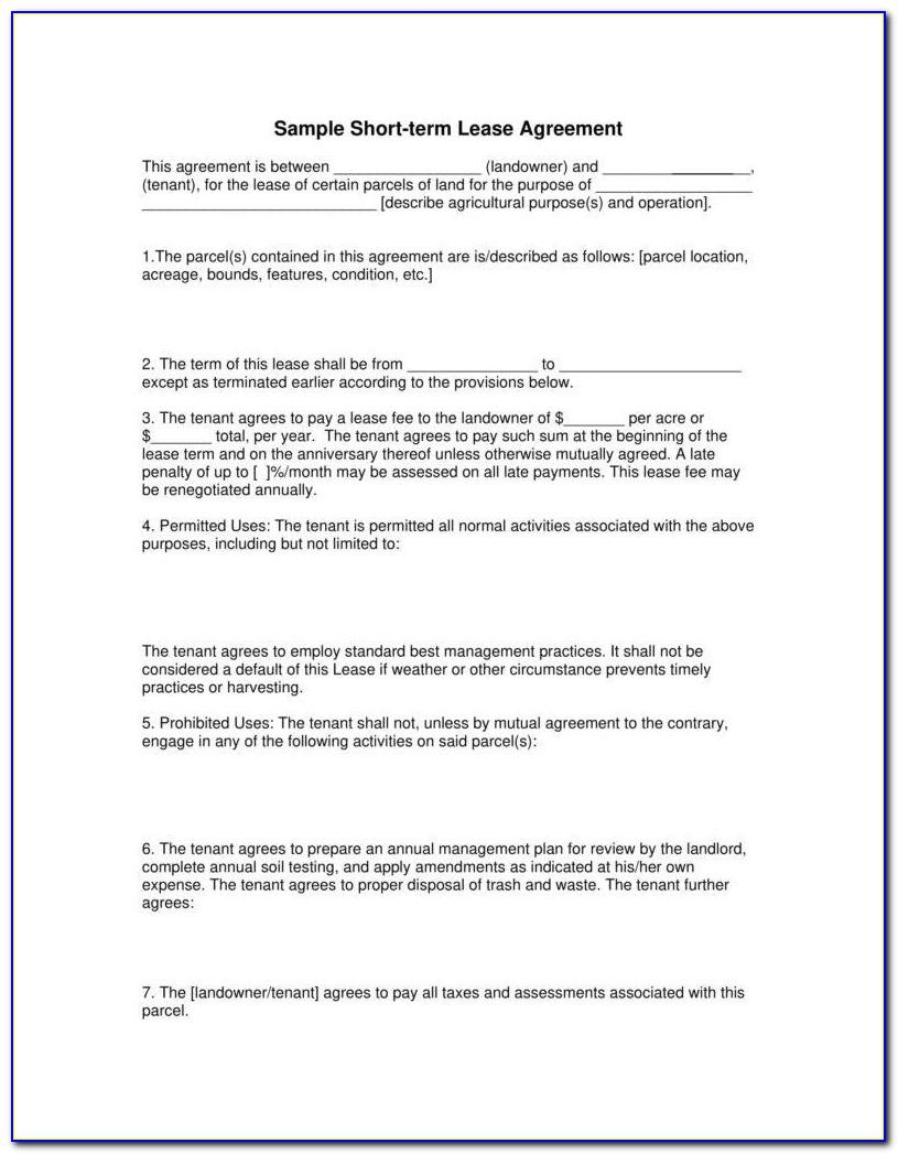 Texas Grazing Lease Agreement Template   vincegray30