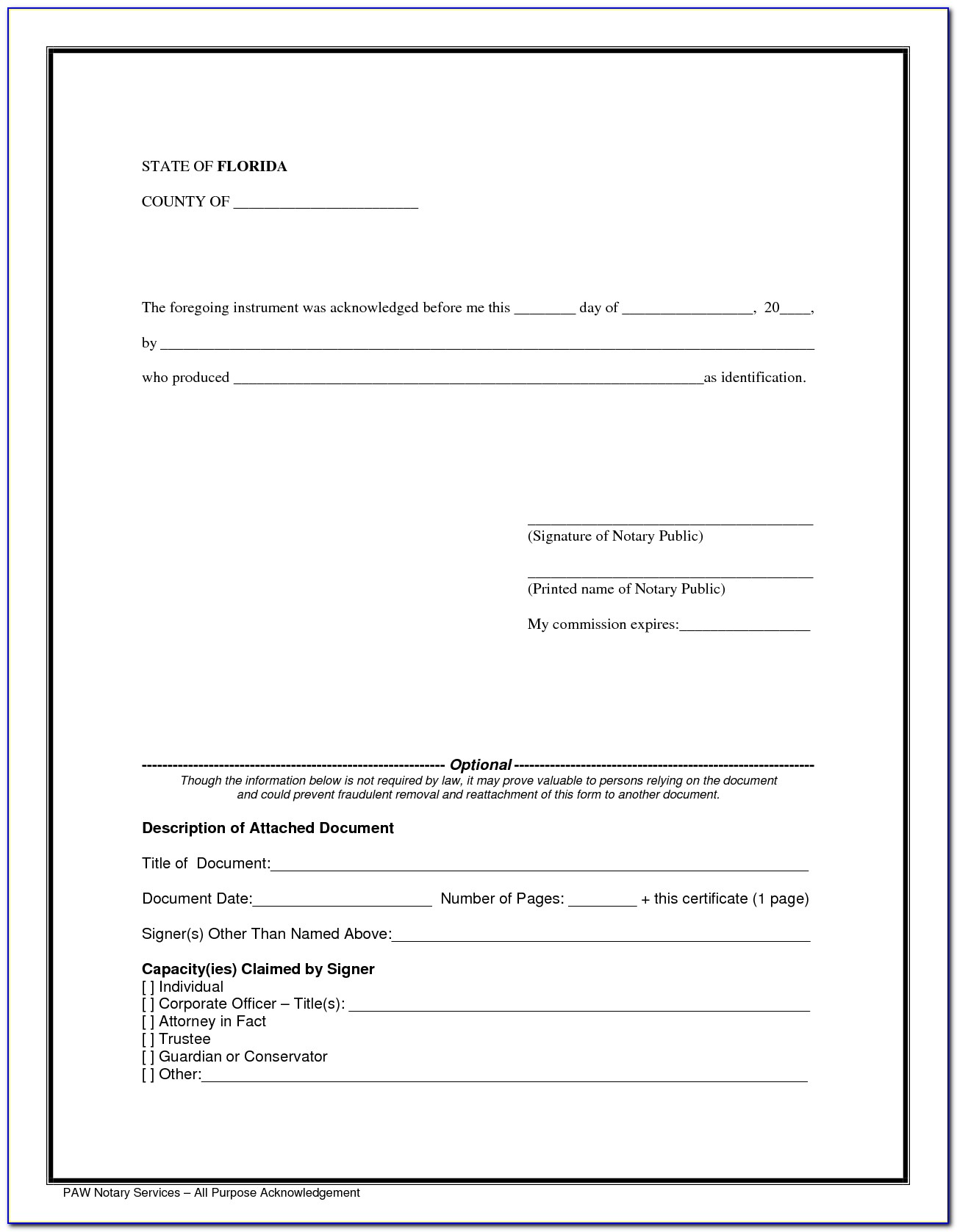 Texas Notary Acceptable Forms Of Id