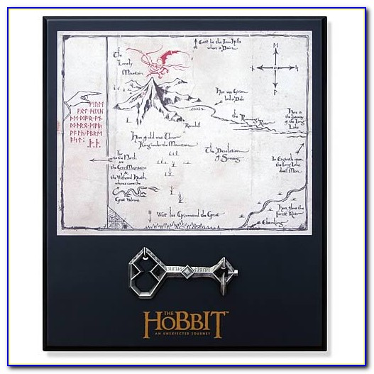 Thorin Oakenshield And The Quest Map
