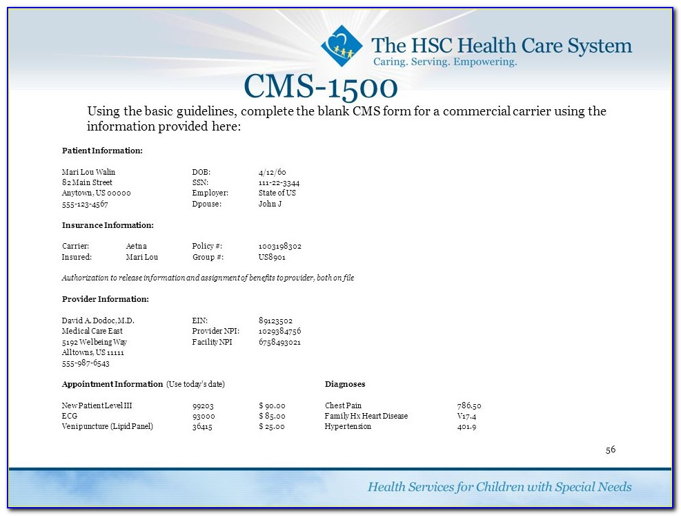 Three New Companies That Sell The Cms 1500 Claim Form
