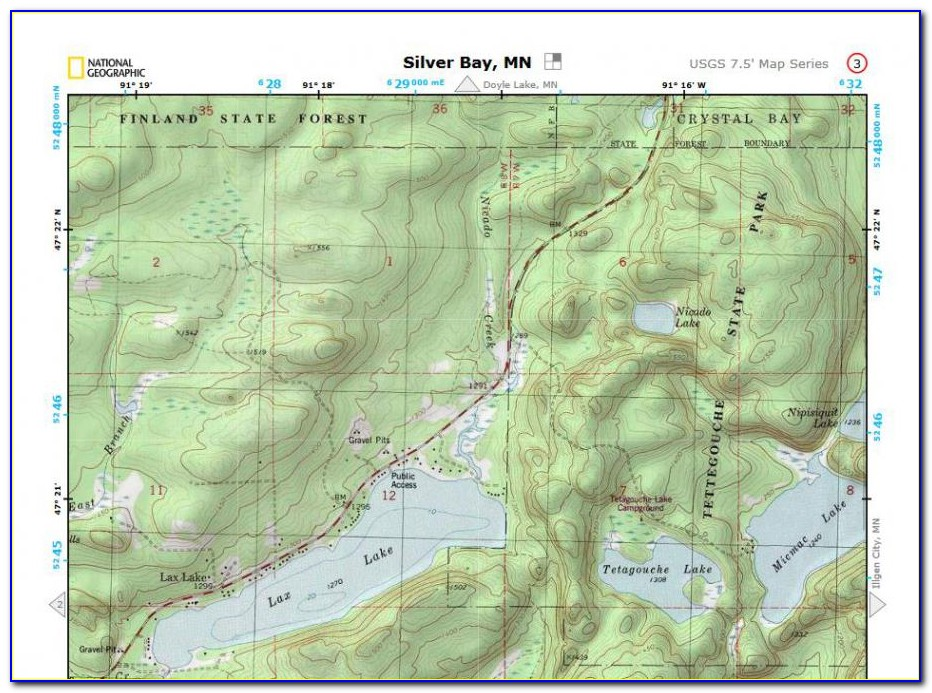 Topo Maps National Geographic