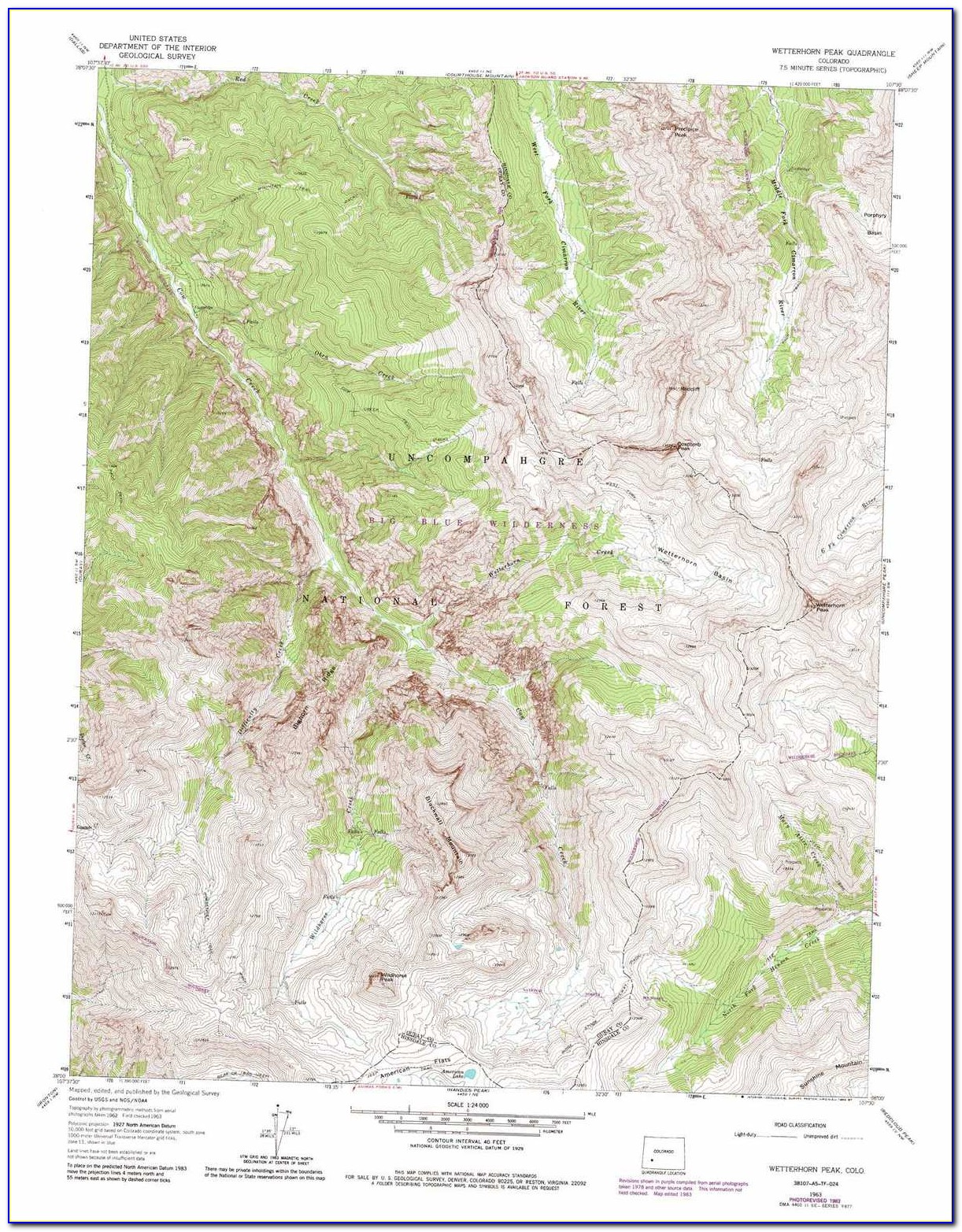 Topo Maps Of Colorado Hunting