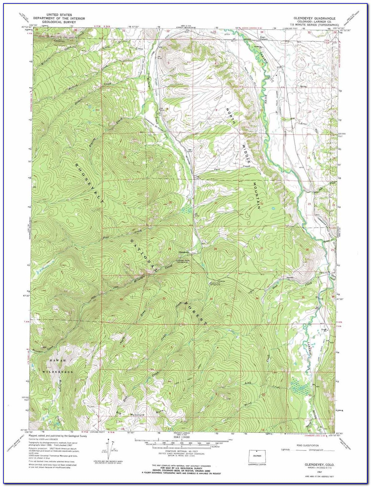Topo Maps Of Colorado