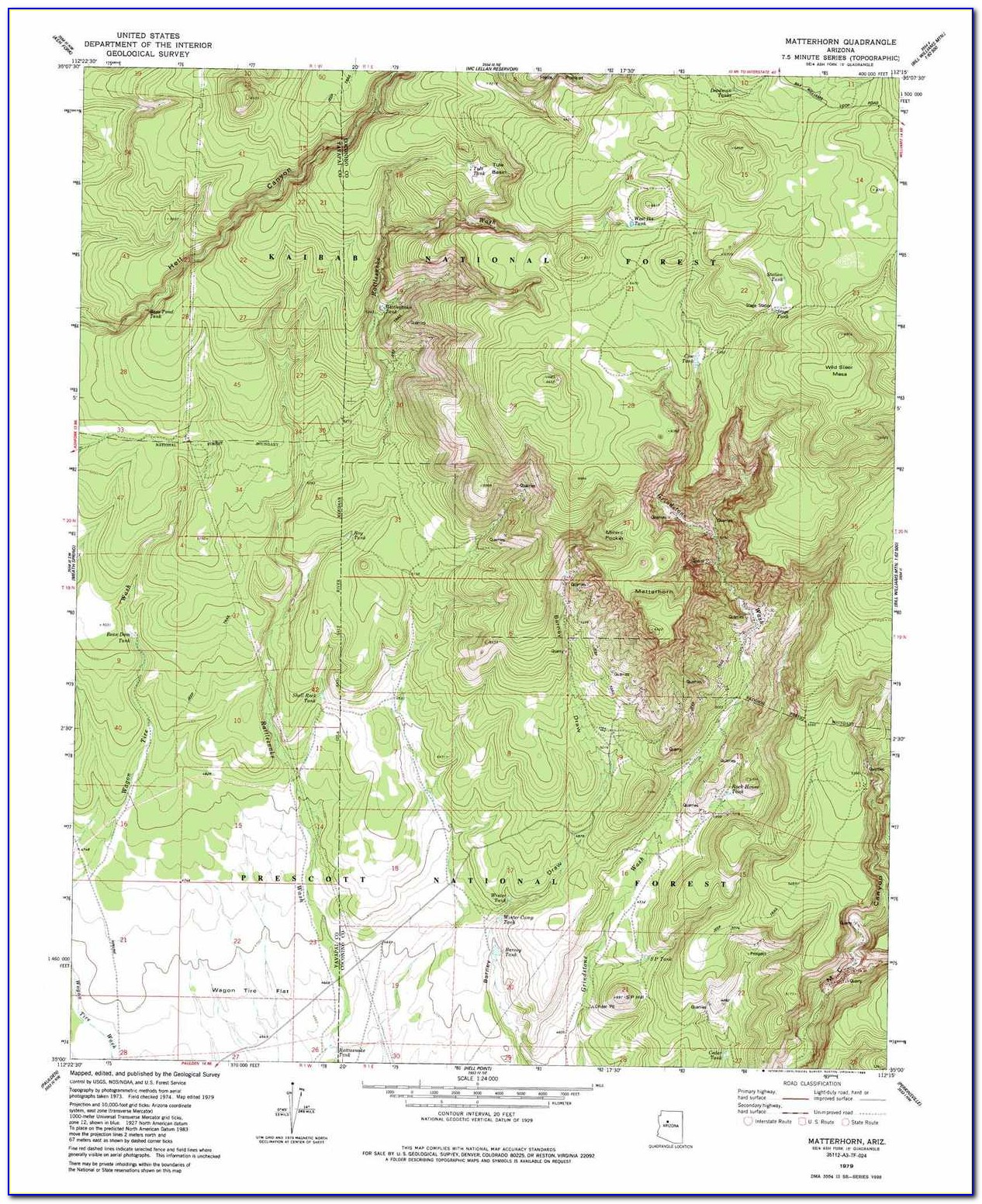 Topographic Maps Arizona Free