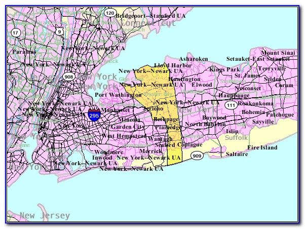 Township Of Oyster Bay Ny Map