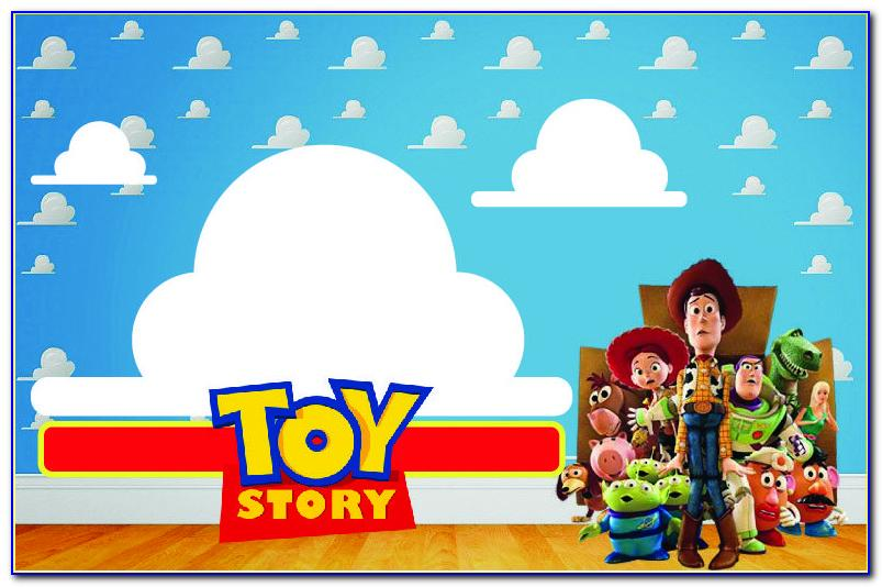 Toy Story 4 Birthday Invitations Template Free