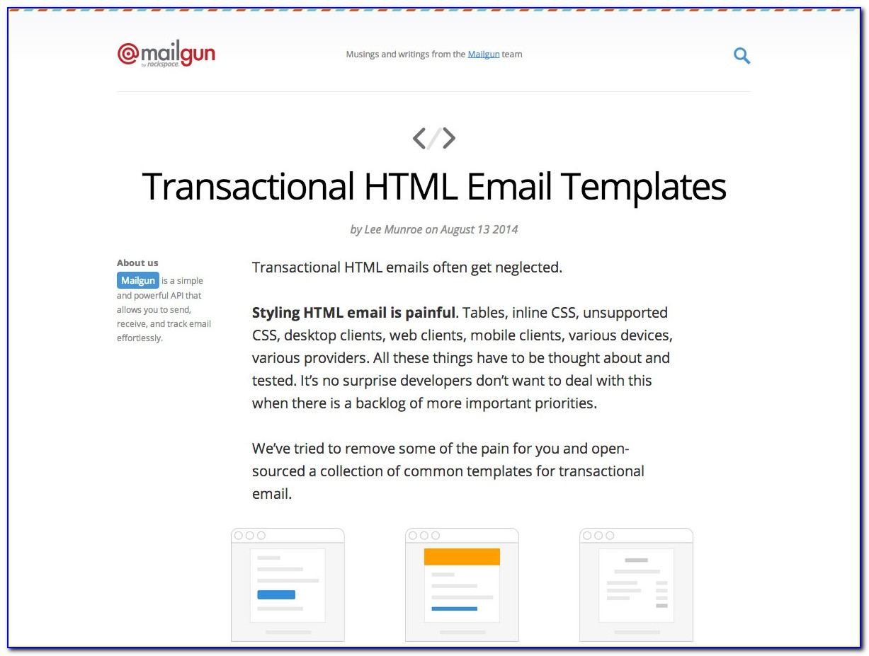 Transactional Email Template Github