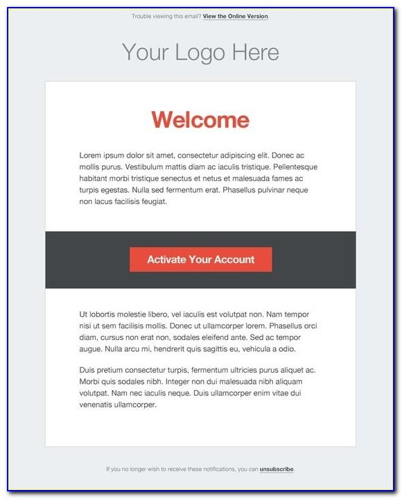 Transactional Email Templates Html