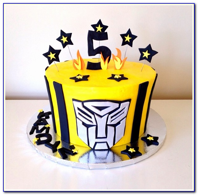 Transformers Bumblebee Cake By Kristy Dax Design Transformer Cake Template Best Of Doc Xls Letter Download Templates Twgip