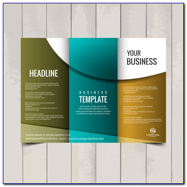 Tri Fold Brochure Design Templates Word