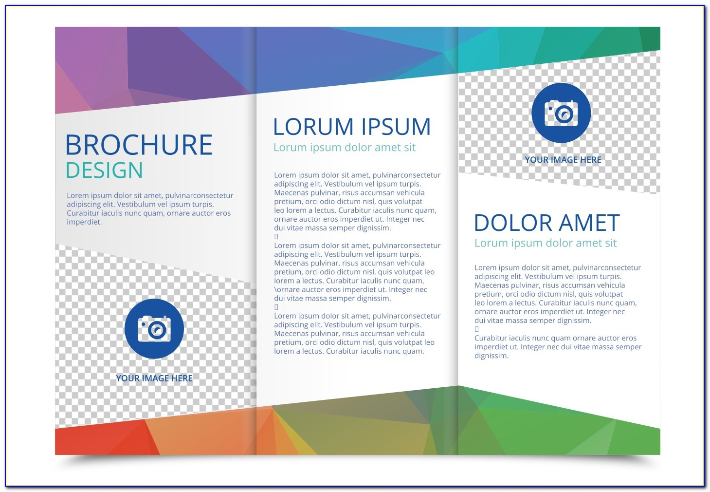 Tri Fold Business Brochure Template Free