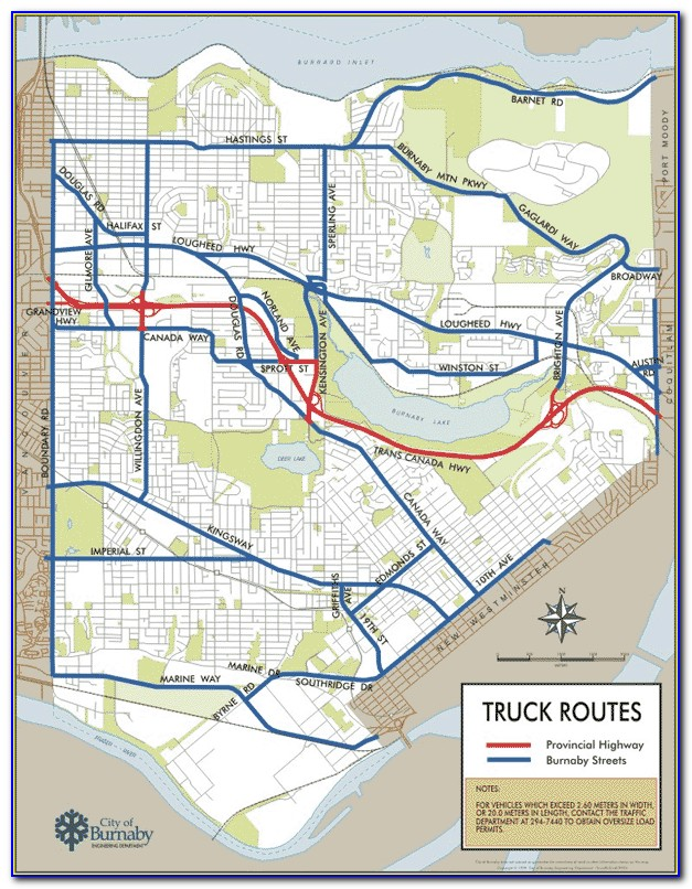 Truck Routing Maps