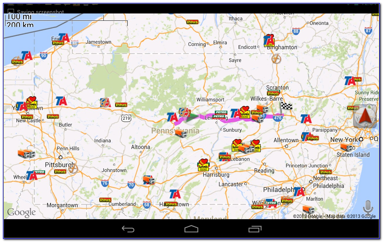 Trucker Road Maps