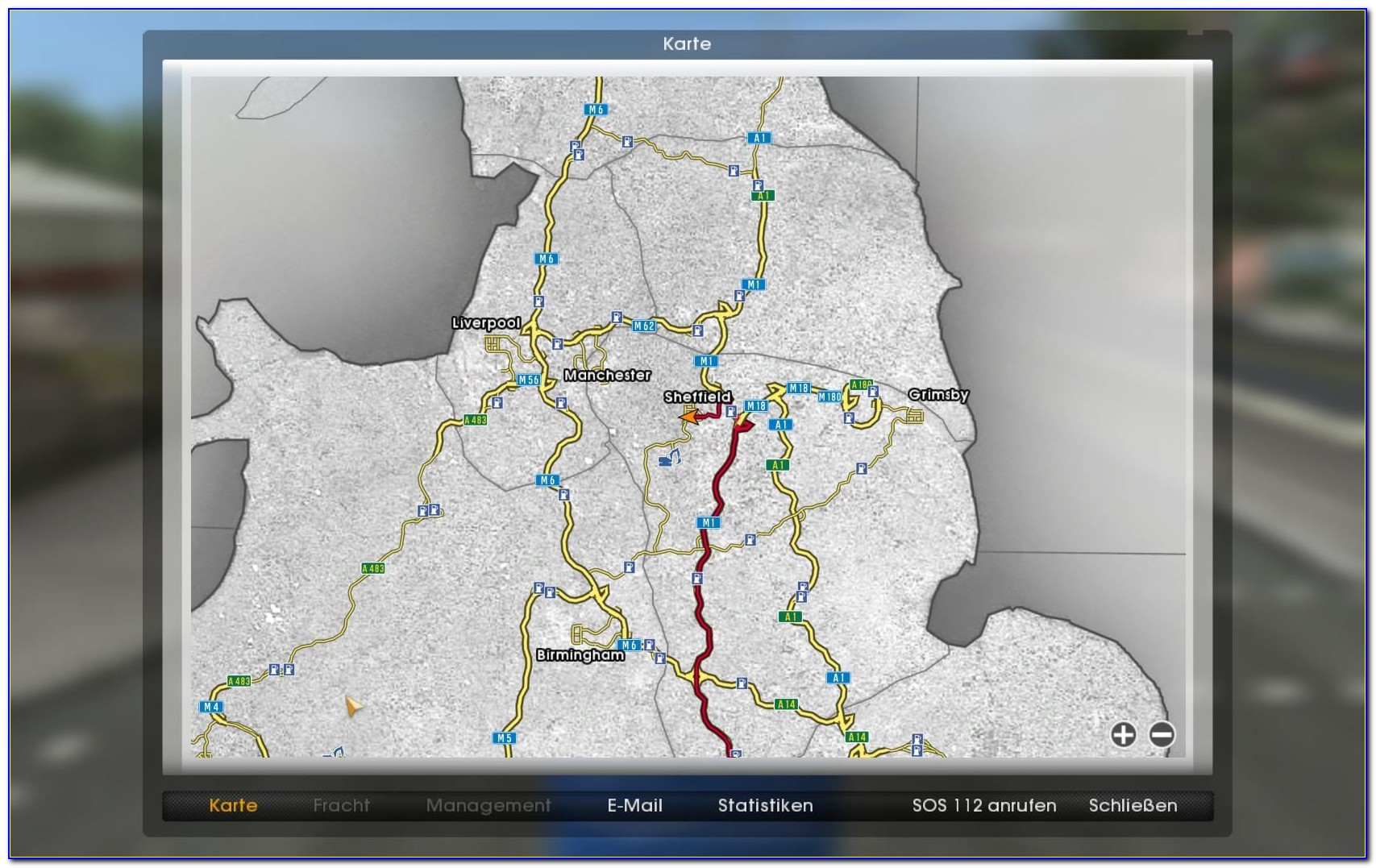 Truckers Road Map App