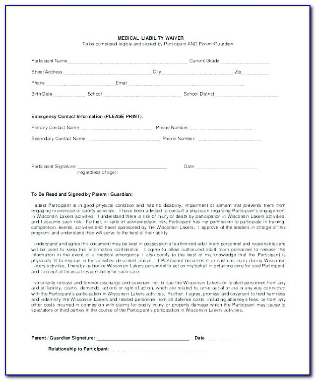 Unconditional Lien Waiver Example