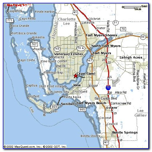 Unit Map Cape Coral Florida