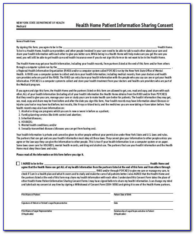 United Health Care Consent Form For Appeal