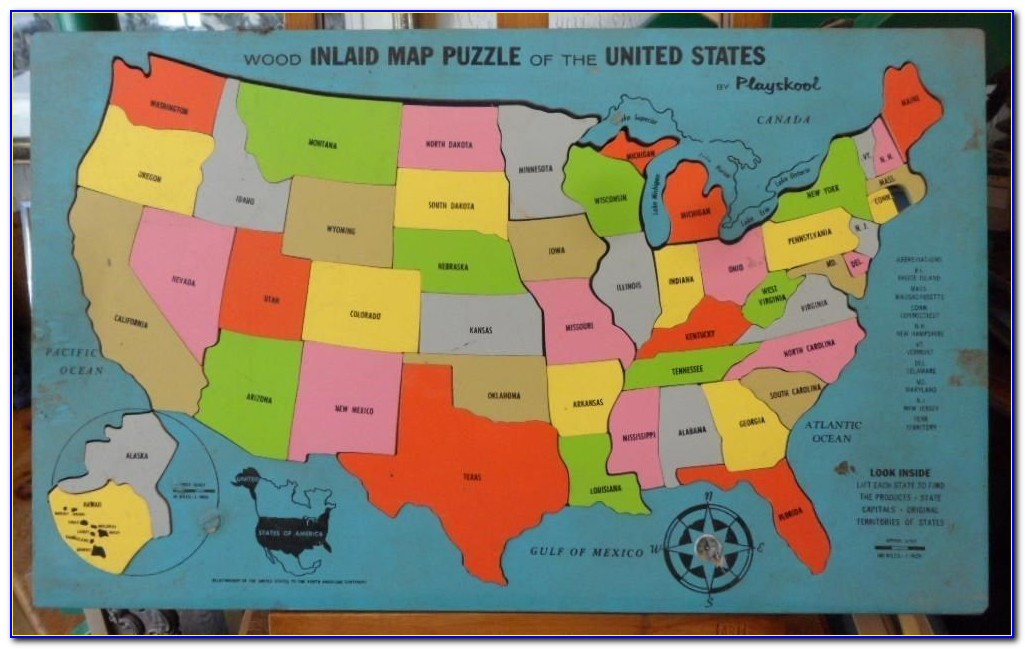 United States Map Puzzle Sheppard Software