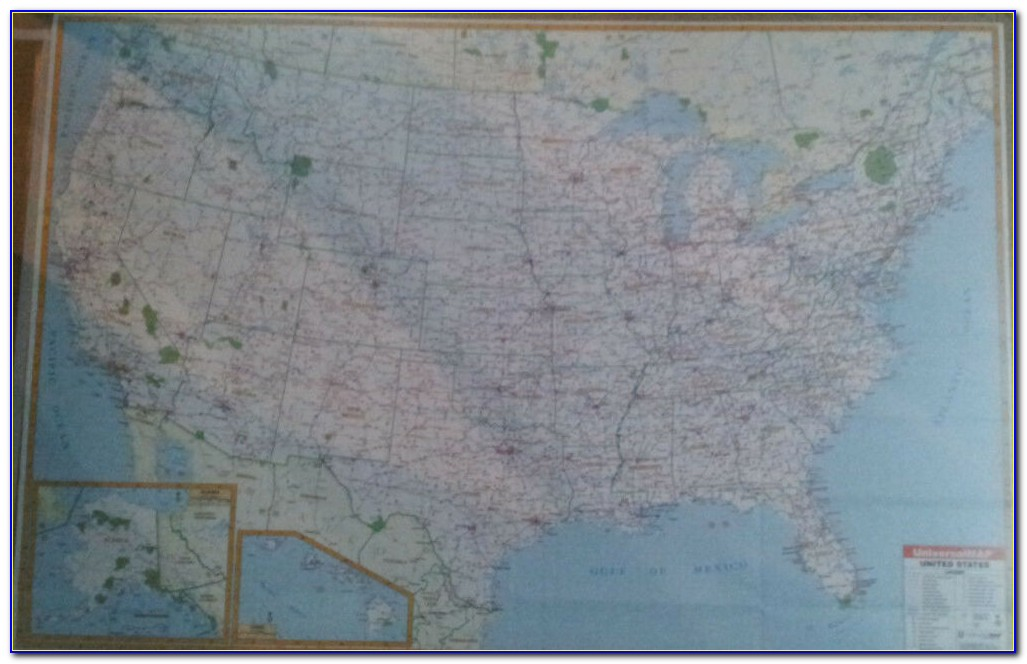 United States Map Wall Hanging
