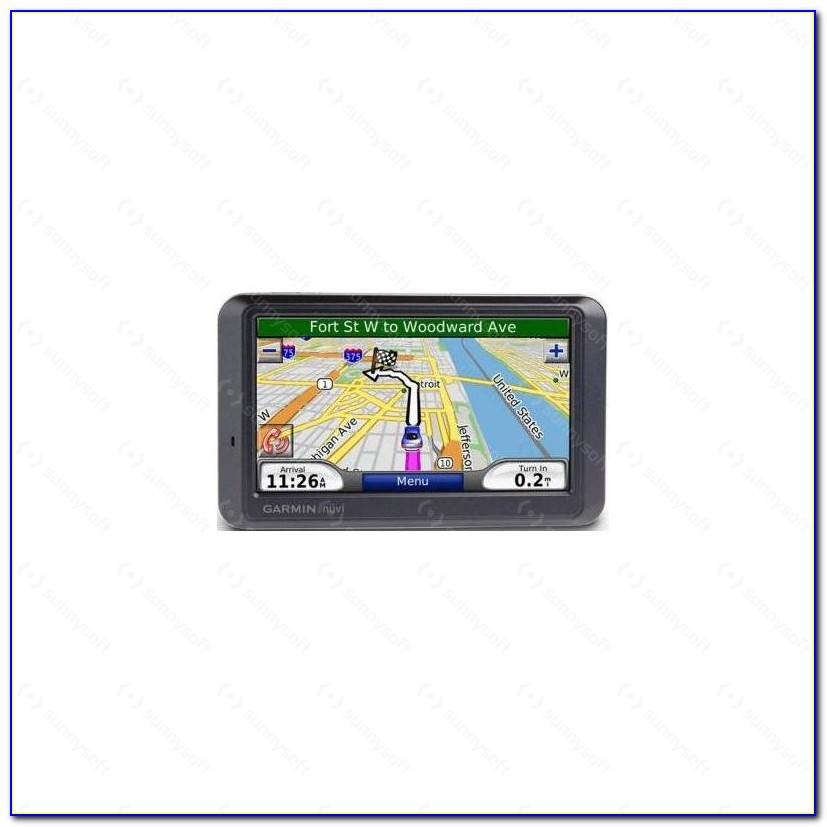 Update Garmin Nuvi Maps