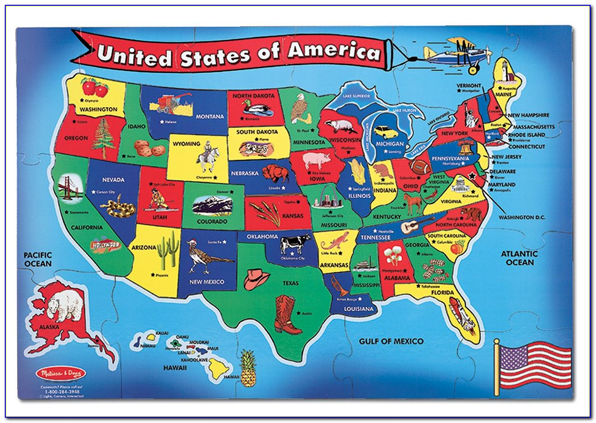 Us Map Puzzle Game Online