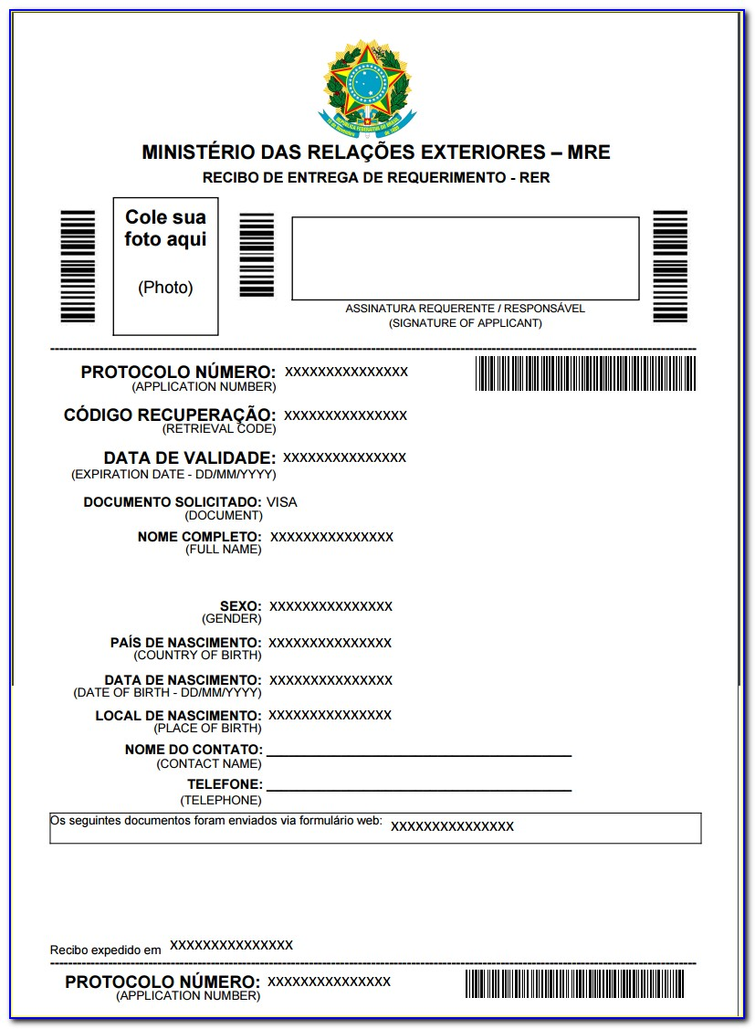 Us Passport Renewal Application Form By Mail