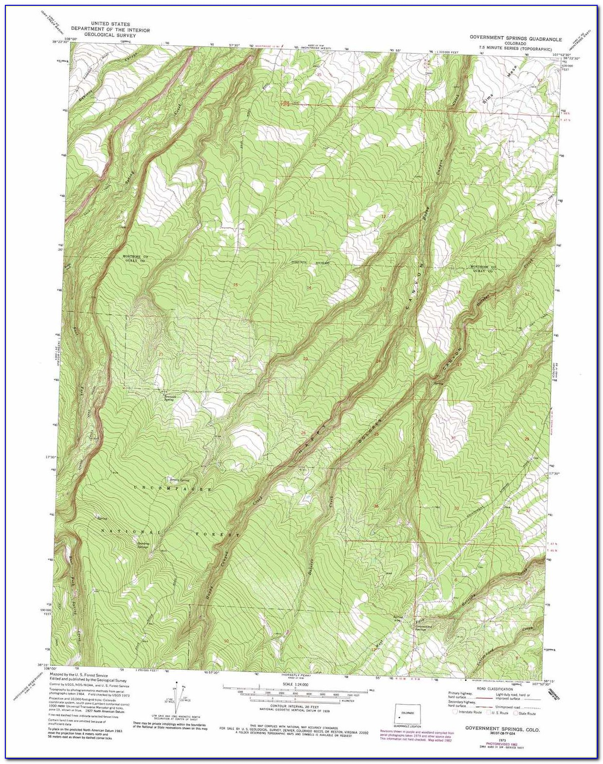 Usgs Topo Map Colorado