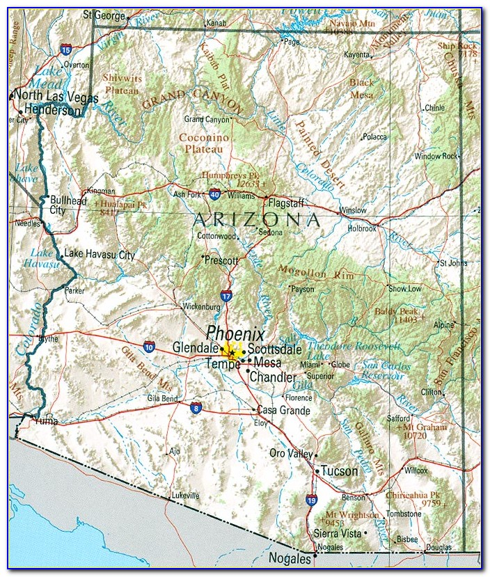 Usgs Topographic Maps Arizona