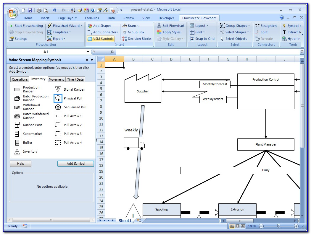 Value Stream Mapping Template Xls