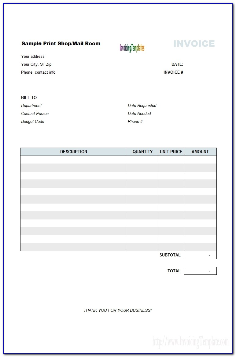 Bill Of Sale Invoice Template Top 10 Results Vendor Invoice Template
