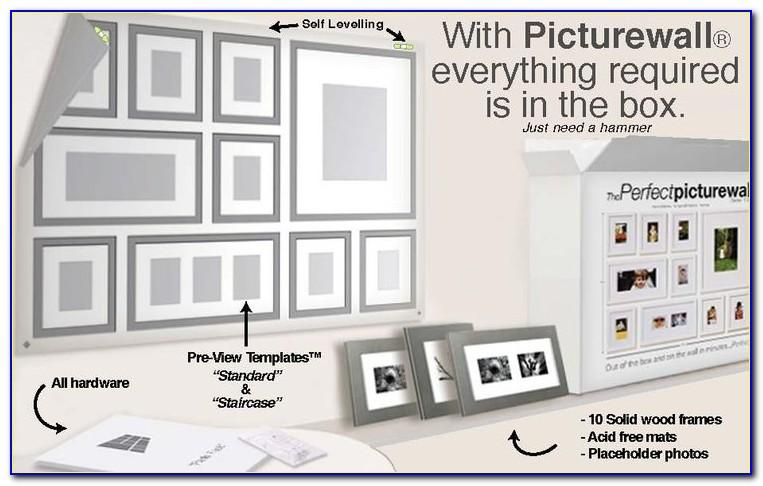 Wall Collage Template Kit
