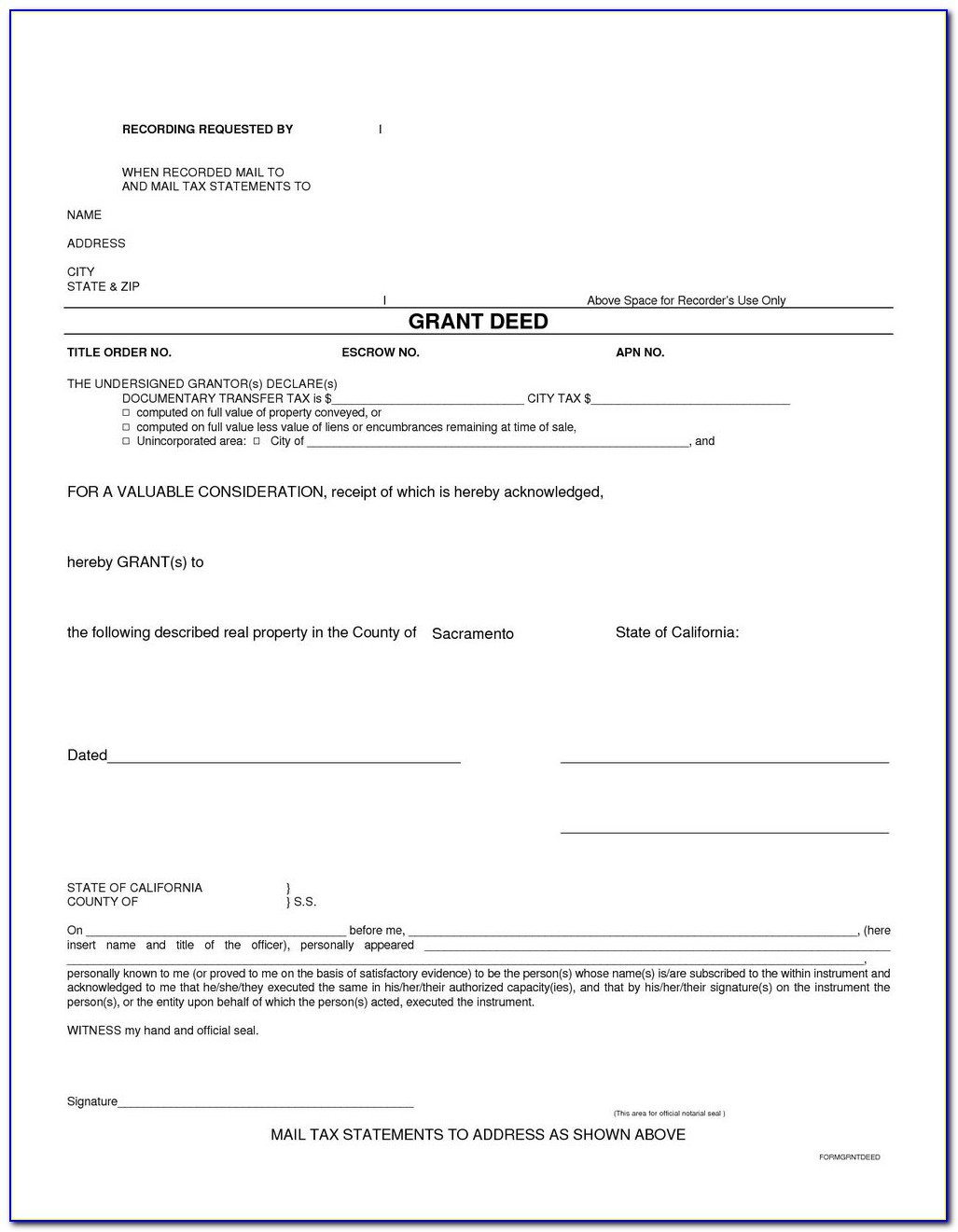 Wayne County Michigan Quit Claim Deed Form
