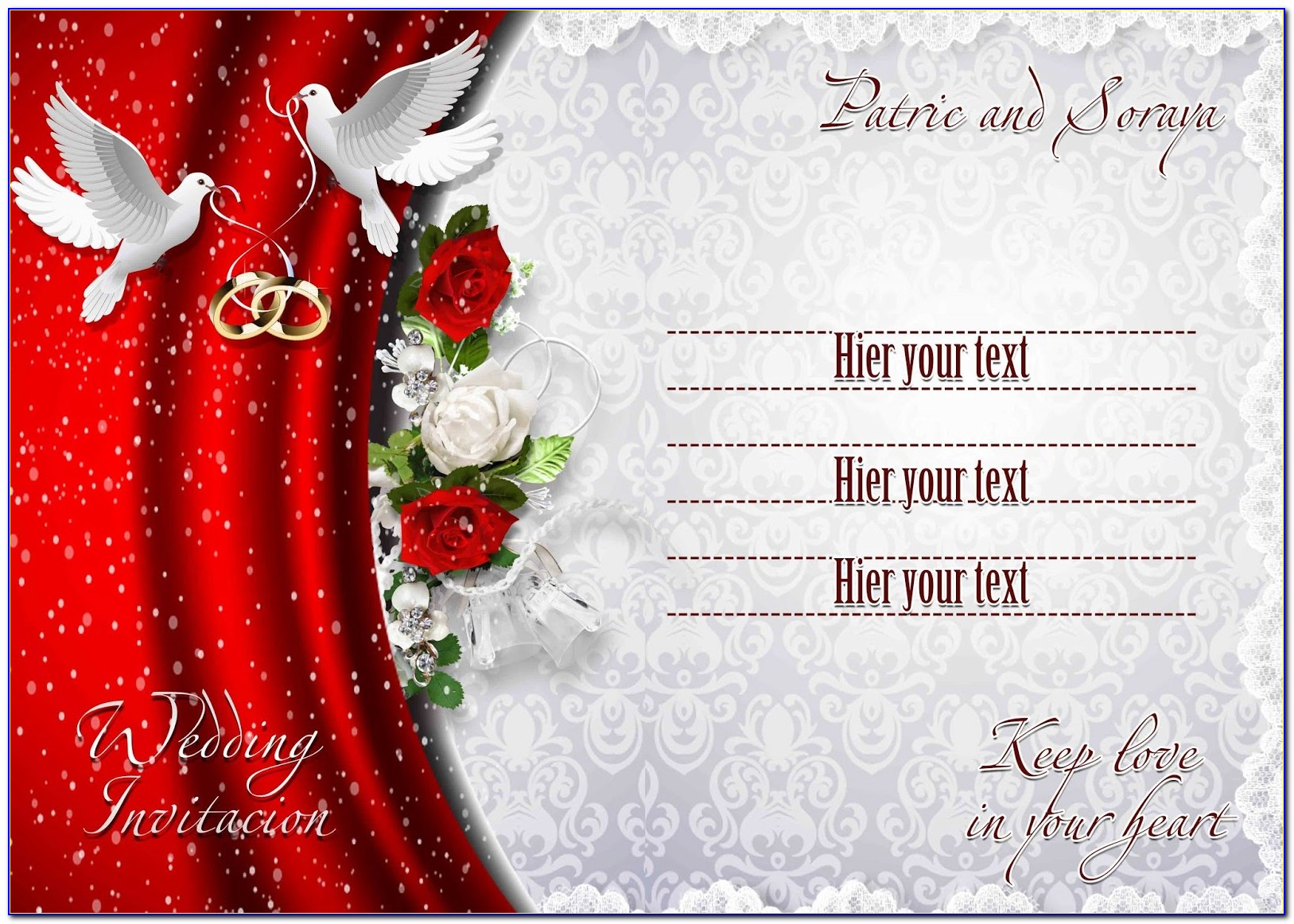 Wedding Invitation Cards Templates Free Download
