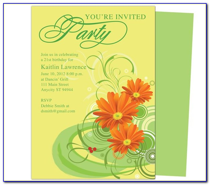 Wedding Invitation Templates For Mac