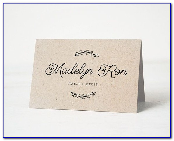 Wedding Name Place Cards Ideas