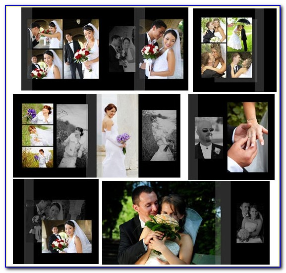 Wedding Photo Album Templates In Photoshop Free Download