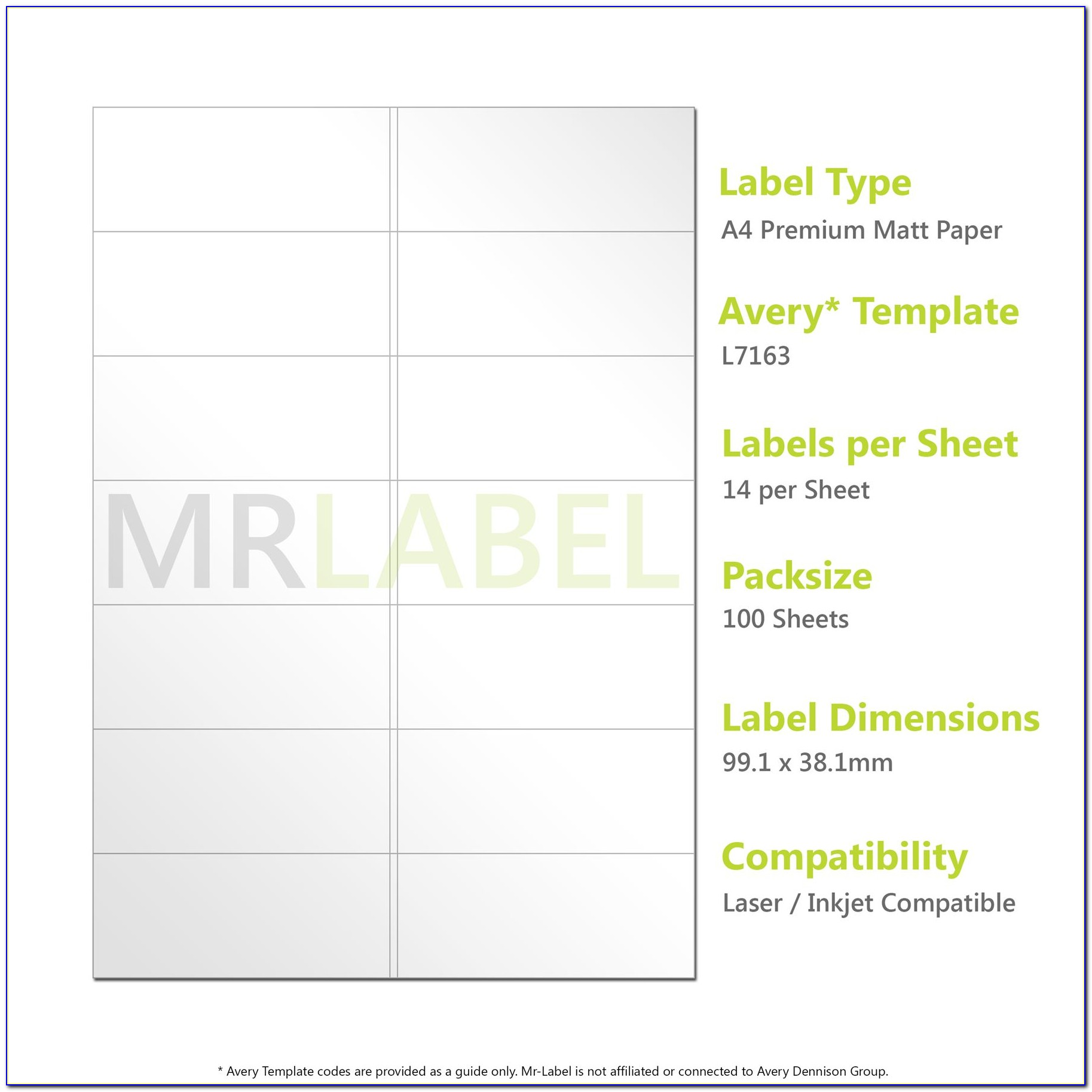 Whsmith Self Adhesive Labels Template